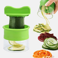 Creative kitchen Spiral Grater Cutter Carrot Potato Cucumber Vegetable Fruit Peeling Shredder Spaghetti Zucchini Blade Spiralizer DHD5391