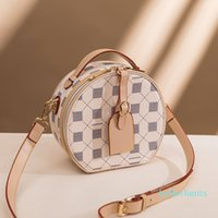 Bag Foreign New Messenger Small Lady Wild Net Round 2021 Red Trendy Fashion Retro Style Portable Cake