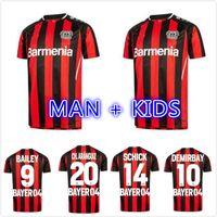 MAN KIDS KIT 2021 2022 Jerseys de fútbol de Leverkusen 21 22 Bayer 04 # 31 Volland Bailey Demirbay Shirt Mens # 29 Havertz Bellarabi Uniforme de fútbol