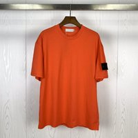 21s de pedra da mola de pedra manga curta camisetas bordadas Logotipo redondo homens mulheres casuais camisetas manga curta Tees 03113