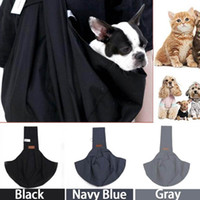 Dog Car Seat Covers Dogs Cat Pet Carrier Hand Free Sling Padded Strap Tote Bag Puppy Shoulder Front Pocket Handbag Carrying Bags Pets Suppli