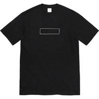 21 Tee Мужчины Женщины Летняя футболка Мода Экипаж Шере Локоть Коленные колодки Короткие Рубашки Homme Streetwear Одежда