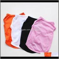 Charms Puppy Chien Vest Cute Dog Clothes Animal T Shirt Pet Supplies Cat Apparels Thin Ventilation Summer 3Yl C2 4Pzek Nisdh