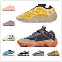 [Con caja] Adidas Yeezy Boost 700 V3 Aurora shoes 700 500 MNVN V1 V2 V3 Runner Mauve Kanye West Wave Vanta Shoes Hombres Mujeres Deportes Deportes Atletismo Zapatillas de deporte