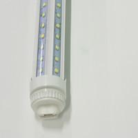 T8 LED luces de tubos 3 pies 2 pies 28W en forma de Víndromo en forma de V FA8 R17D AC85-265V PF0.95 2835SMD Bulbos fluorescentes Rotar lámparas de iluminación Venta directa de Shenzhen China Factory