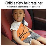 1 قطعة الطفل مقعد حزام تعديل حامل سيارة مكافحة الرقبة الرقبة الطفل الكتف غطاء مقعد حزام الضعف الطفل حزام الأمان للأطفال سيارة السلامة