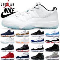 air jordan 11 Basketballschuhe 25-jährige Jubiläumslegende blau gezüchtete Concord Cap and Garden UNC MENS Womens Trainer Sneakers Größe 36-47
