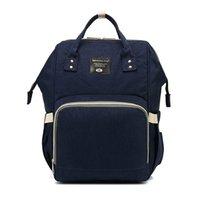 아기 기저귀 가방 다기능 여행 배낭 기저귀 변화 엄마 가방 진한 파란색
