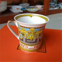2021 Mugs de design classique Tasse de café Unisexe Coupe de la haute qualité Voyage de la maison Bouteilles d'eau de luxe