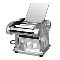Makers de fideos eléctricos 220V Presionando Máquina de harina Home Automático Pasta Corte de acero inoxidable PUMPLING PIEL