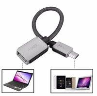 USB-C 3.1 Type C Homme à l'adaptateur Câble USB 3.0 OTG Chargeur de données USB pour Samsung S8 S9