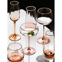 Bernstein Phnom Penh Wein Glas Haushalt Becher Cocktail Glas Champagner Gläser Wasser Eiscremetasse Trinkglaswaren