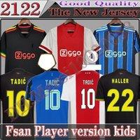 Haller 2122 Amsterdam Futbol Formaları 21-22 Tadic Klaassen Traore Promes Neres Cruyff Man Çocuk Seti Futbol Gömlek Üniformaları