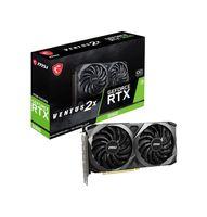 GeForce RTX 3060 12 GB 15 Gbps Gbps Gbps HDMI / DP PCIE 4 Torx Twin Fan Ampere OC Placa gráfica (RTX 3060 ventus)