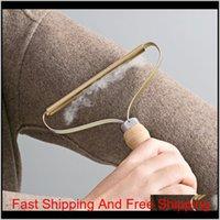 Tragbare Fusselentferner Kleidung Fuzz Fabric Shaver Brush Tool Power-Free Flusen Entfernen von Rollen für S Qylsfs Toys2010
