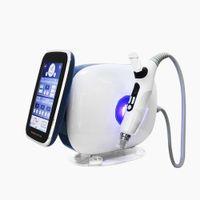 EMS Microneedle RF Makinesi Hiçbir İğne Meso Mezoterapi Gun Enjektör Yüz Kaldırma Su Enjeksiyon Anti Aging Salon Güzellik Cihazı