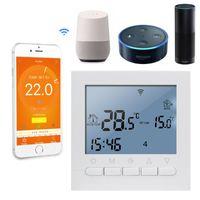 Akıllı Ev Kontrolü 16A AC 220 V WIFI Elektrikli Sistem Sıcaklık Kontrolü App Sıcak Zemin için Termostat ve El Kontrolleri