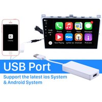 Plug and Play Apple Carplay Auto USB Dongle For Car touch screen Radio Support IOS IPhone Siri Microphone voice control