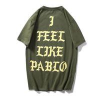 남성 여성 여름 Kanye West T 셔츠 코튼 풀오버 Y2K Streetwear 화이트 빈티지 디자인 옷 대형