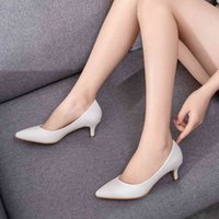 Dress Shoes Crystal Queen of Women Five in High Bomb Jump Lady the Office Sexy Shoe Bride Fancy Party Poted Toe PU Heel QS8J