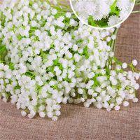 Gypsophila seda bebé aliento artificial fake seda flores planta casa boda fiesta decoración del hogar envío gratis 536 r2