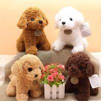Plüschspielzeug Teddy Hund Nette Plüsch Hund Spielzeug Gefüllte Tiere Weiche Puppe Plüschtier Kinder Kind Weihnachten Neujahr Geschenke DHL Versand