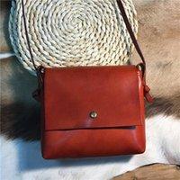 Bestform véritable cuir Mini Sacs 2021 Nouveau Sac à voile de Cowhide à la main Vintage Sac Sac Sac Sac Sac à Bandoulière