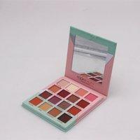 Wholesale Huda 16 Colour Eye Shadows home Blush And Highlight Multifunctional Makeup Eyeshadows Palette