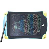 Graphics Tablet ЖК-ЖК-Рисование Таблетки 12-дюймовый Письменные Доски Электронная ультратонкая доска с ручкой беспроводных подушек почерков