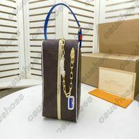 DOPP CLOAKROOM KIT حقيبة تواليت M45588 حقيبة أصعب قطعة إلى بوش الحصول على حصرية أدوات الزينة التجميل ماكياج المرأة الرجال حقائب M85149 RJLQB