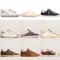 Super Star Women Man Sneakers Shoe Plush Design Sequin Classic White Do-old Dirty New Arrivals Casual Shoes OJb Golden Luxury Gooses