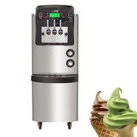 Akıllı LCD Ekran Dondurma Makinesi Süt Çay Dükkanı Için Dondurma Yapma Makinesi 220 V 110 V