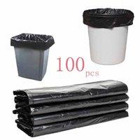 (596x01) 100 adet Çöp Çanta Küçük Çöp Kova Çöp Çantaları Yok Kaçak 43x45 cm Tek Kullanım