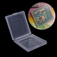 Portable Game Gracze 77JD 5X Clear Plastle Case Case Dust For Boy Color GBC