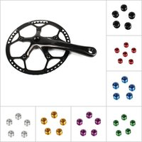Bike Brakes 2PCS Litepro Ultra-light Colorful 7075 Aluminum Alloy Mountain Bicycle Chainring Bolts Single Chain Ring  FFY