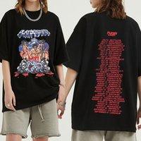 Rap Playboi Carti Vintage Hip-Hop TShirt Men Short Sve Cotton T Shirts Summer Casual Music Tee Shirt Athetic 90S Clothing