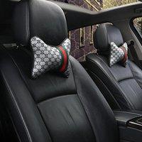 2pcs Auto Neck Pillow Memory Foam Cuscini Collo Sedile Poggiatesta Poggiatesta Cuscino Cuscino di alta qualità Sicurezza Poggiatesta Automotive Interni