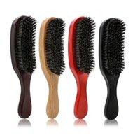Brush Brush Brush Brush Brush con impugnatura da barba da barba per uomo con manico Pettine per parrucchiere Pennelli per teasing
