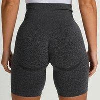 Yoga Outfit NVGTN Laufung Sport Workout Shorts Frauen Hohe Taille Gym Frauen Leggings Nahtlose Fitness Sport Sportkleidung