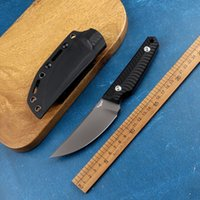 DC53 Steel G10 Handle All Tang Tactical Straight Knife Survival Outdoor Camping Hunting Self-Defense Tool Collection