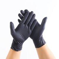 Versand Hohe Qualität Schwarz Nitrilhandschuhe Einweg Kostenlose Schutznitrilhandschuhe IndustrializationD Latexhandschuhe Für Männer Frauen