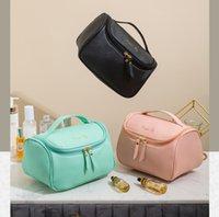 HBP 화장실 키트 여성 가방 패션 베이징 comestic 가방 방수 흙 내성 대용량 블루 화이트와 오렌지 색상