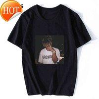 Suco wrld preto tshirt homens gótico rip t-shirt hiphop xxxtentacion 999 streetwear oversize harajuku resto na camisa da legenda da paz