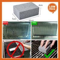 Czyszczenie Kamień Non Slip Handheld Grill Szybki Cleaner Cegła Griddle Skrobak Griddle Usuwanie Plams Narzędzia Pędzel BBQ Akcesoria Smar Cleaner