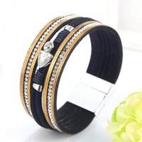 Tennis 35 Design Vintage Multiple Layer Leather Bracelet For Women Men Bead Pearl Charms Wrap Bracelets 2021 Femme Fashion Jewelry