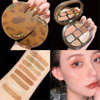 Amber Glass 8 Colori Eyeshadow Palette opaco Glitter Glitter Shimmer Eye Shadow Palette Eye Shadow Trucco Set 3 PZ