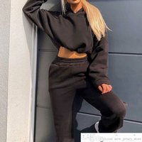 Two Pieces Set WoMen Man Sports Casual Loose Hoodies for WoMen Man Sweatshirts Pollover Sweatpants Set Sportswear Female Suit Tracksuitsoccer jersey