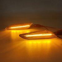 1Set For Alfa Romeo 156 147 For Fiat Tipo Lancia Delta 3 Ypsilon LED Dynamic Side Marker Light Arrow Turn Signal Blinker Lamps