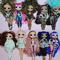 Оригинальные лол сюрприз куклы OMG Большая сестра может выбрать рождественские подарочные детские игрушки, включая одежду для продажи