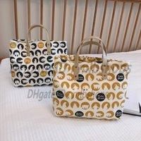 Axelväskor Luxurys Designers Högkvalitativa Mode Kvinnor Crossbody Handväskor Plånböcker Lady Clutch Cartoon Polar Bear Cloth Bag Purse 2021 Totes Handväska